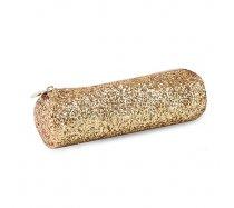 QC sparkle tolltartó kerek, arany glitteres