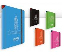 Jegyzetfüzet DARK színes