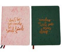 Classy & Sassy bársonyborítású jegyzetfüzet