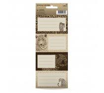Füzetcímke Leopard Original