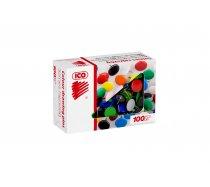 Rajzszeg ICO színes 100 db-os
